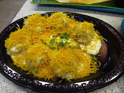 Komala's Fusion Restaurant, dahi puri