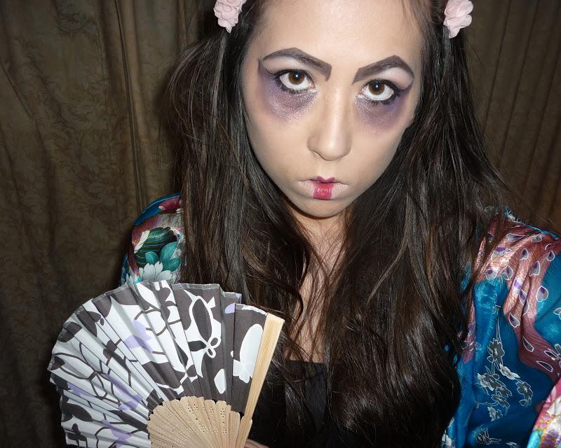Geisha Makeup Kit Costumes - Mugeek Vidalondon