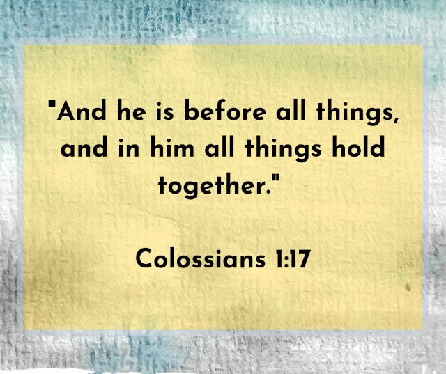 Colossians 1:17 quote