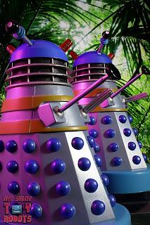 Doctor Who 'The Jungles of Mechanus' Dalek Set 02