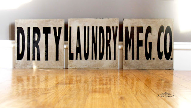 Dirty Laundry Signs, Bliss-Ranch.com