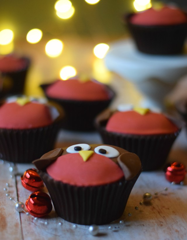 Cupcakes perfect for the Christmas festivities