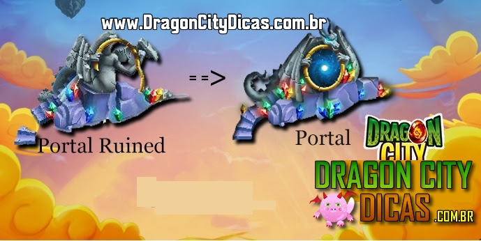 Novo Portal do Dragon City