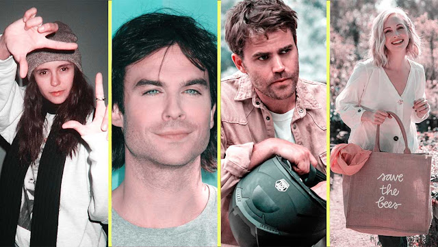 The Vampire Diaries - The Cast of Vampire Diaries Then and Now