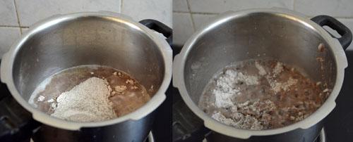 how to make ragi kali