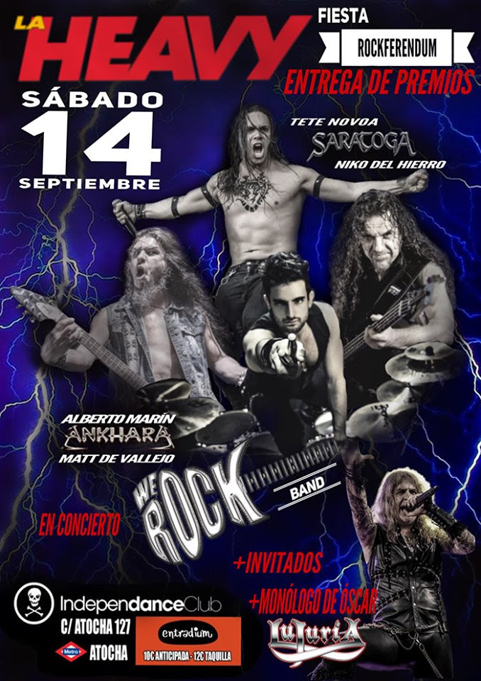 Fiesta concierto rockferendum la heavy