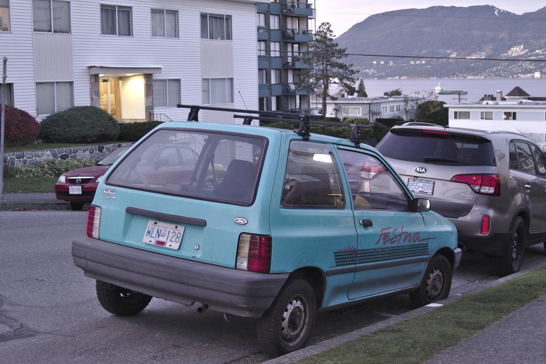 1991 Ford Festiva L