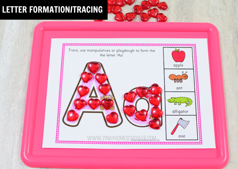 Valentine's Day Guided Tracing Sets