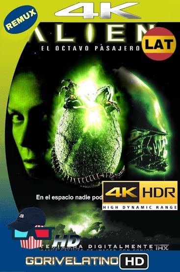 Alien: El Octavo Pasajero (1979) Director's Cut BDRemux 4K HDR Lat-Cas-Ing MKV