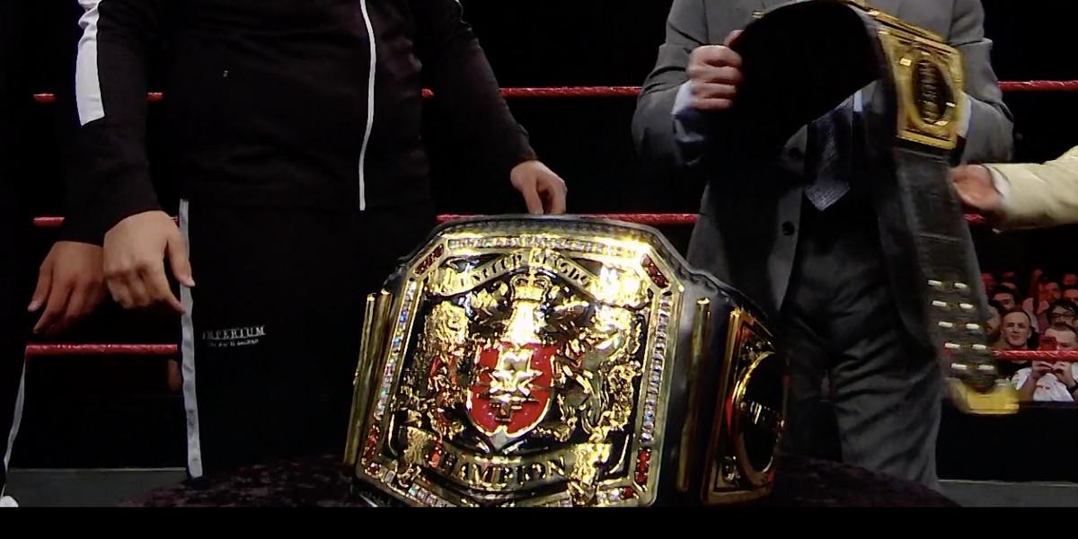 Título do NXT UK que foi roubado em 2019 é devolvido a WWE