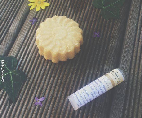 Savon solide visage et baume pour les lèvres Sweet Bee Atypique Provence