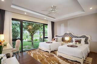 villa 2 phòng ngủ resort nha trang
