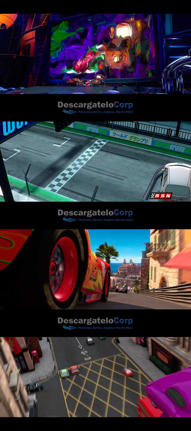 Cars 2 (2011) HD 1080p Latino Dual