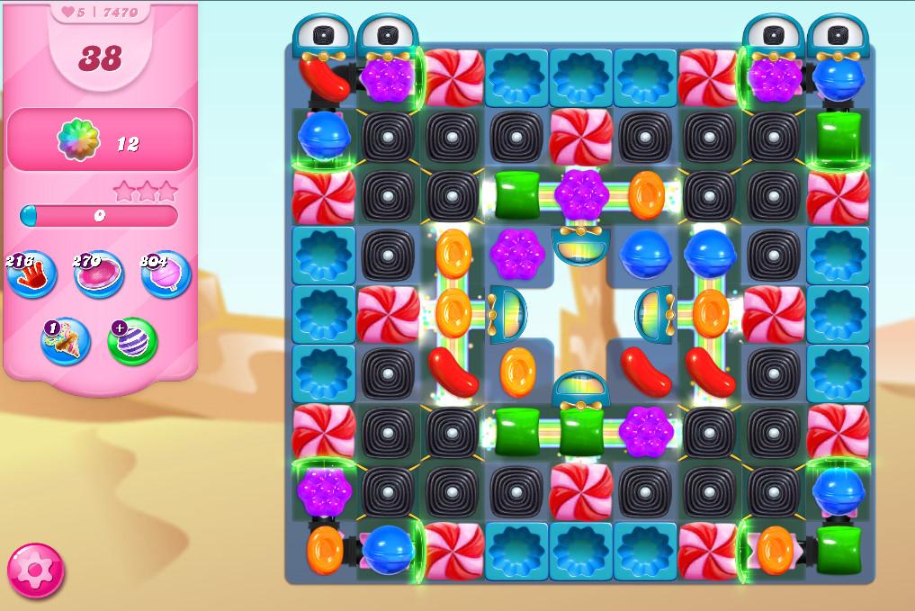Candy Crush Saga level 7470