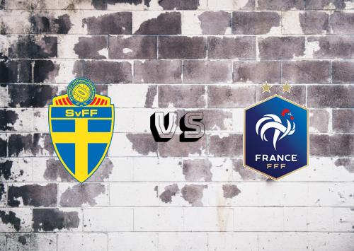 Suecia vs Francia  Resumen y Partido Completo