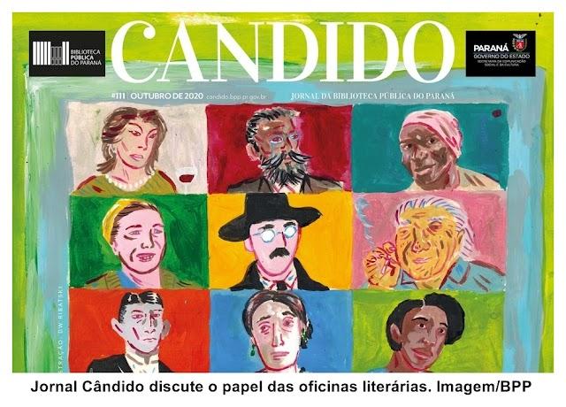 Jornal Cândido discute o papel das oficinas literárias