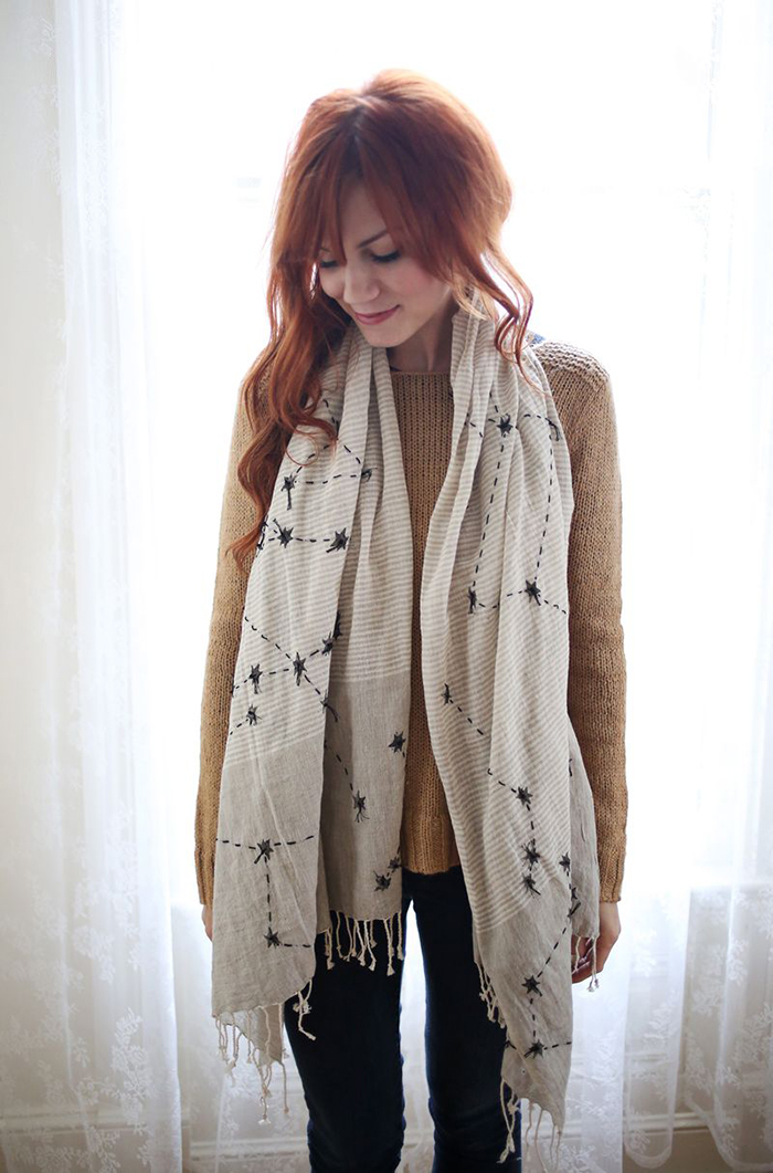 5 DIY to Try # scarves - Ohoh Blog