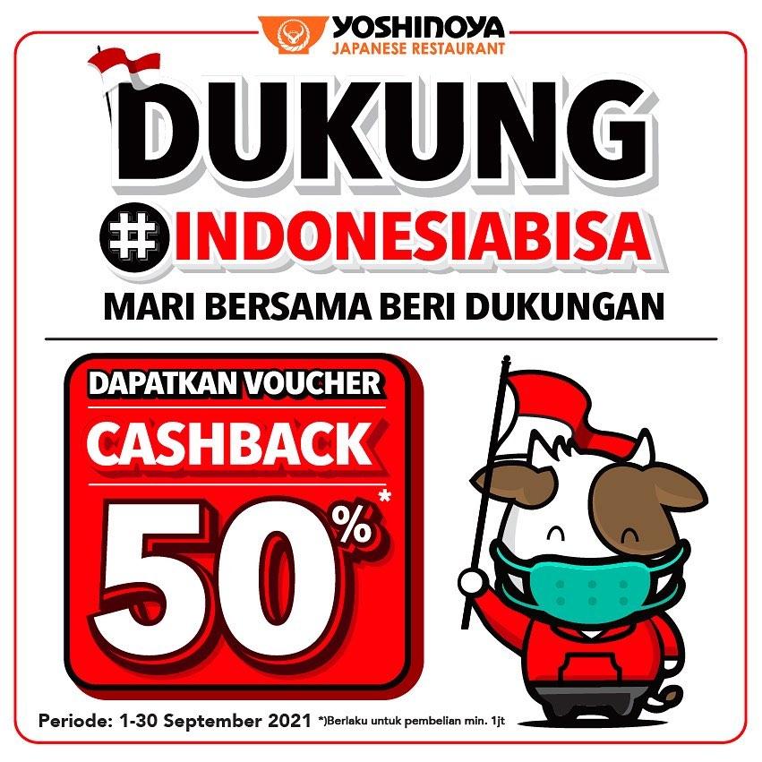 Yoshinoya Cashback 50%
