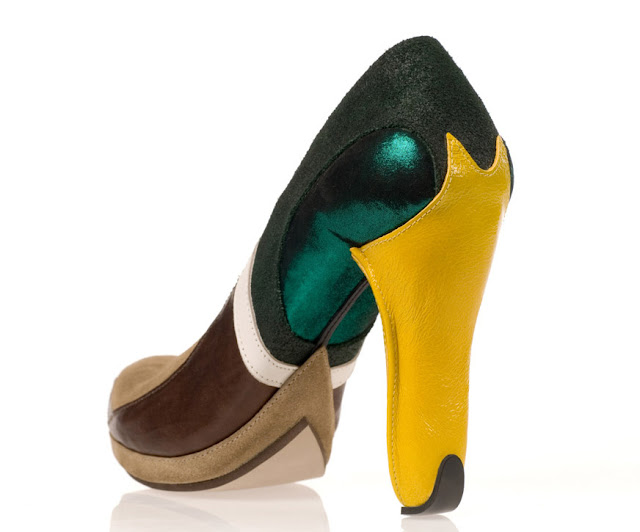Duck high heels by Kobi Levi at if it's hip, it's here