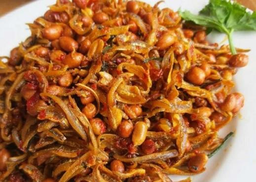 Resep Cara Membuat Sambal Goreng Teri Kacang Tanah Enak