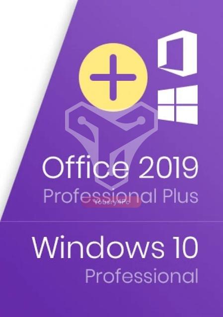 تحميل ويندوز 10  برو مع اوفيس 2019 - Windows 10 Pro With Office 2019 Pro Plus فى إسطوانة واحده