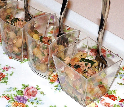 Flageolet Bohnen Salat