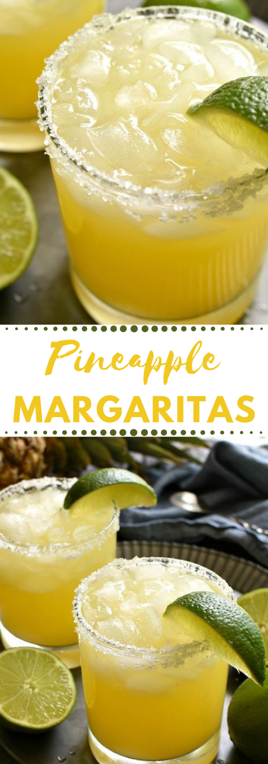 PINEAPPLE MARGARITAS #pineapple #margaritas #drink #cocktail #party