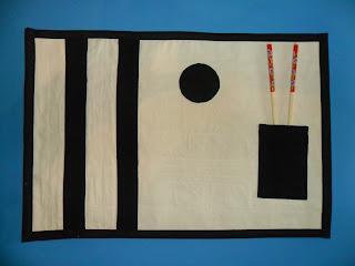 mantel individual japones