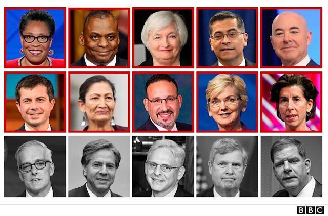 Toma de posesión de Biden: estos son los miembros del gabinete más diverso en la historia de EE.UU.
