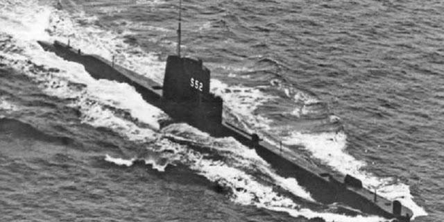 Kapal Selam Inggris dan 71 Jasad Awaknya Ditemukan Setelah 73 Tahun Hilang