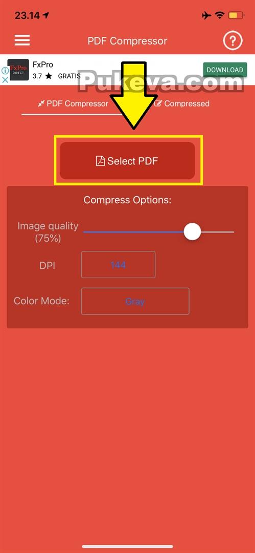 Perbesar Ukuran Pdf : perbesar, ukuran, Mengecilkan, Kompres, Ukuran, IPhone, PUKEVA