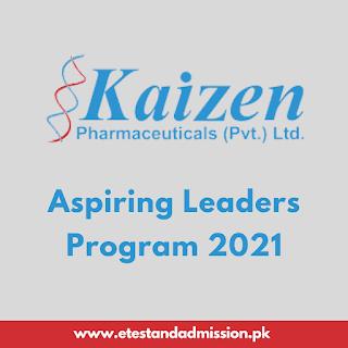 Kaizen Pharma Aspiring Leaders Program 2021