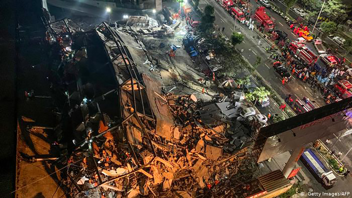 Hotel Collapses