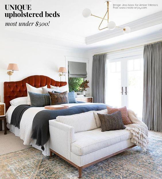 Upholstered Beds Week 6 Guest Bedroom