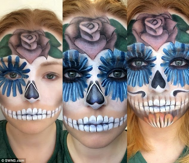Amazing-This makeup artist can transform herself into anything (Photos)