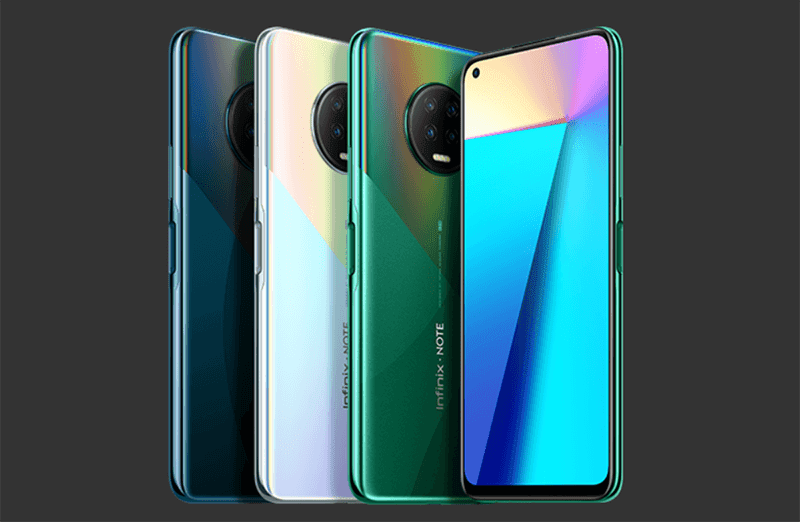 Infinix Note 7 with Helio G70 SoC, circular camera hump, and punch-hole screen announced