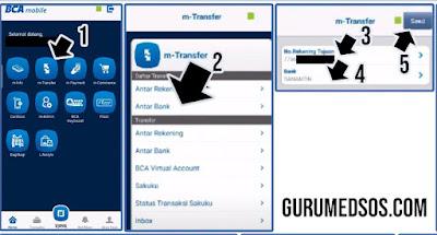cara bayar adira lewat mobile banking bca