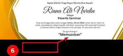 Kumpulan Contoh Sertifikat Pelatihan Dan Seminar CorelDraw