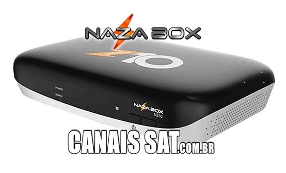 Nazabox NZ10 Atualização V2.81 - 27/03/2021