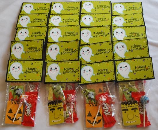 Amanda S Crafts And More Some Cute Ghost School Treats