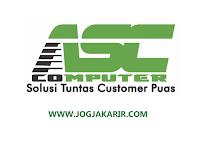 Lowongan Kerja Jogja di ASC Computer Desember 2020