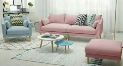 Model sofa retro minimalis