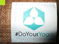 Logo: Jute-Yogamatte »Sampati Jute« / High Quality Matte aus hochwertigen Jutefasern und ECO-PVC. Atmungsaktiv, schadstofffrei und sehr robust. Ideal für häufige Yogaübungen. Maße: 183 x 61 x 0,5cm, in verschiedenen Farben erhältlich