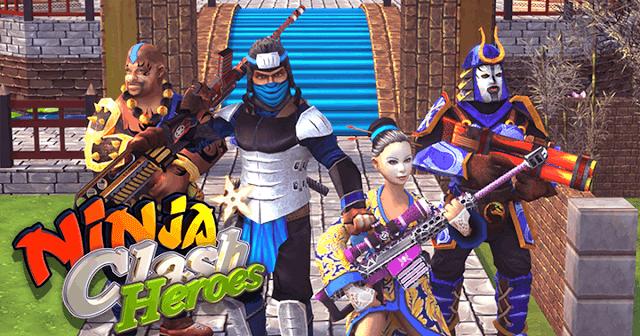 Ninja Clash Heroes - Play Online Free Game