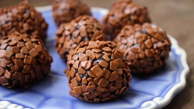 Brigadeiro de chocolate simples