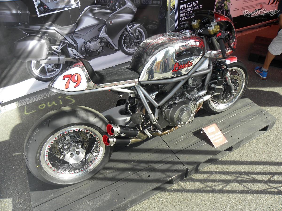 vfr 1200 by louis motorrad rocketgarage cafe racer. Black Bedroom Furniture Sets. Home Design Ideas