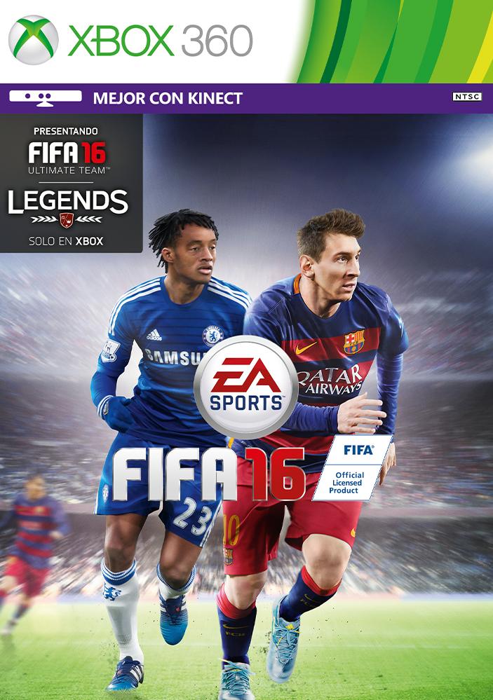 FIFA 16 ESPAÑOL XBOX 360 Cover Caratula