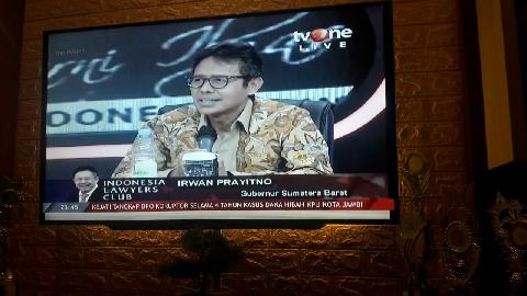 Gubernur Irwan Prayitno: Kalau Ada yang Bilang Sumbar Belum Pancasilais, Coba Tunjukan!