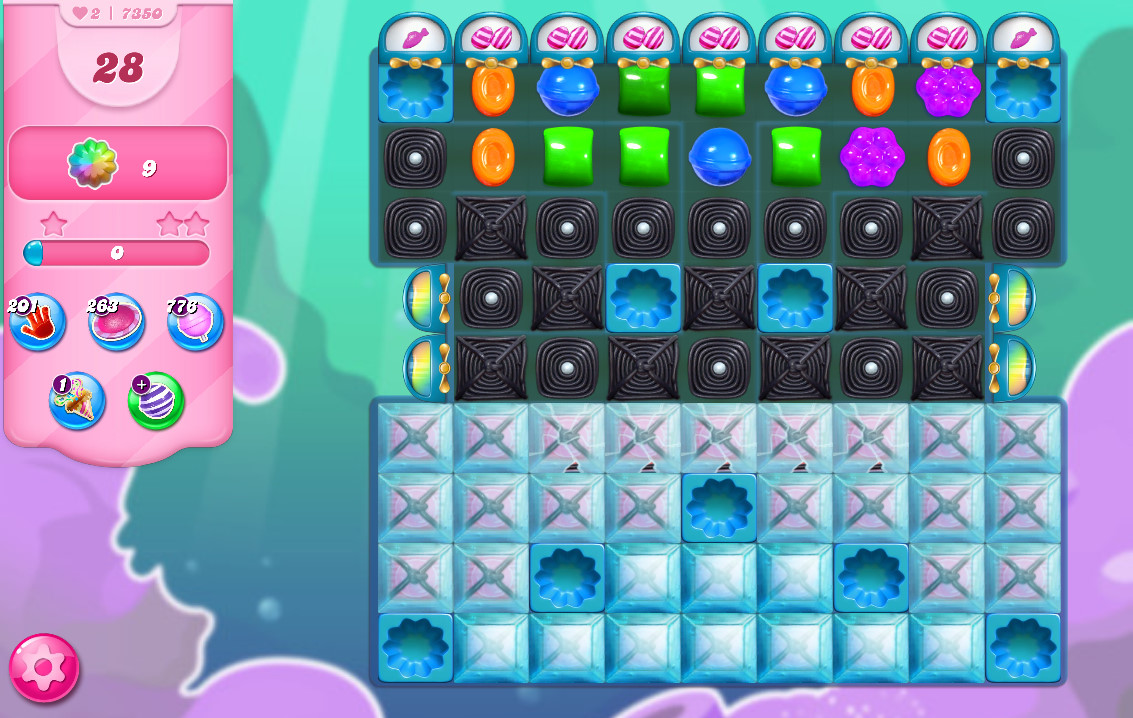 Candy Crush Saga level 7350