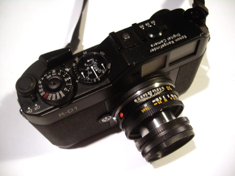 Kamera rangefinder Lensa Analog kamera Rangefinder